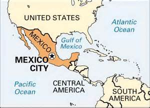 Map Of Mexico City Location